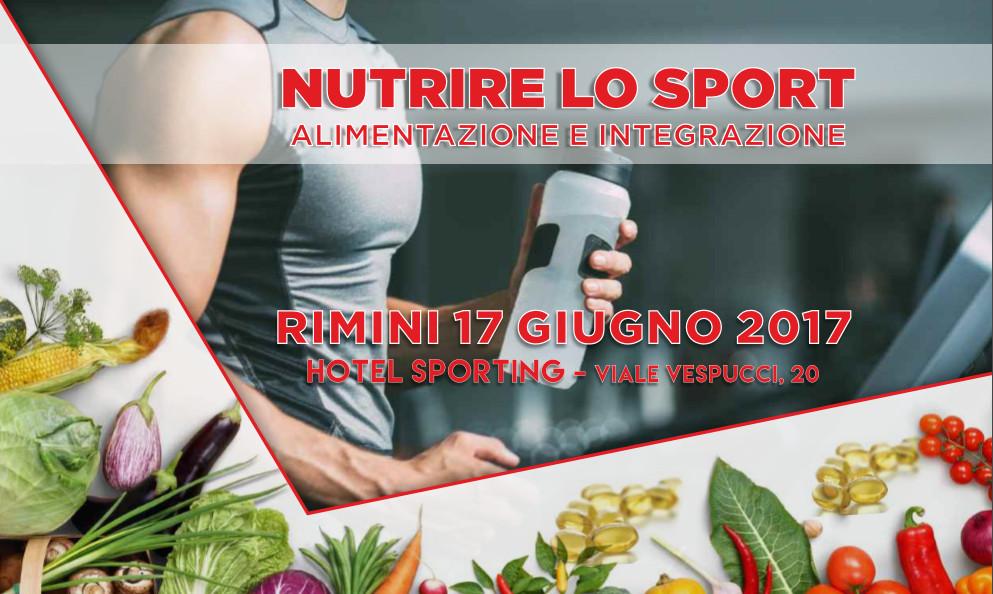 Nutrire lo sport – Rimini 17 Giugno
