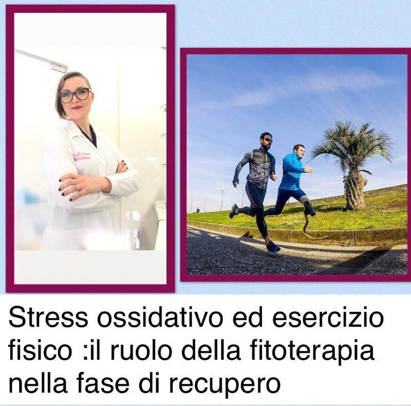 stress ossidativo e sport, Stress ossidativo ed esercizio fisico:il ruolo della fitoterapia nella fase di recupero.