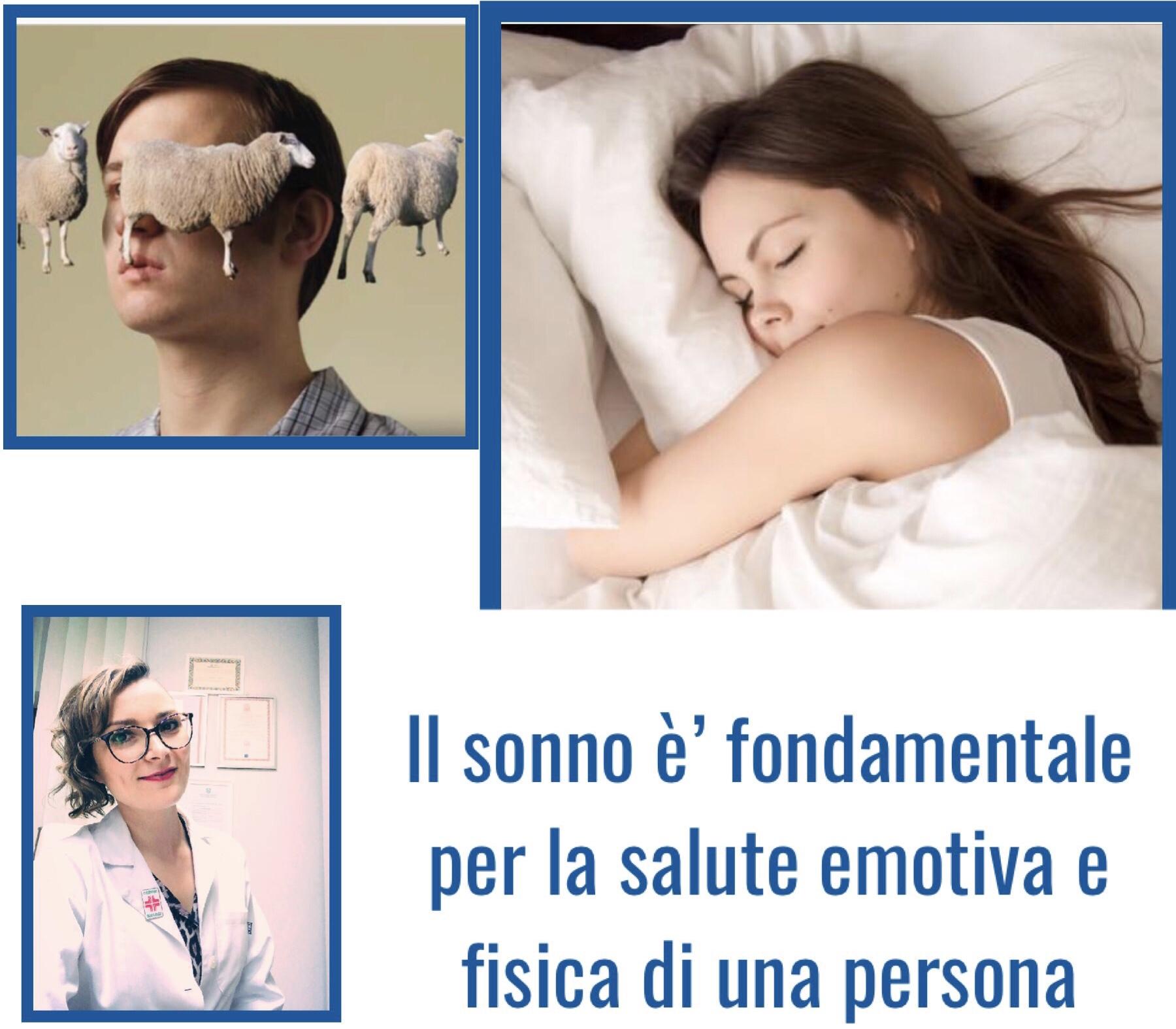 Il sonno è fondamentale per la salute emotiva e fisica di una persona.
