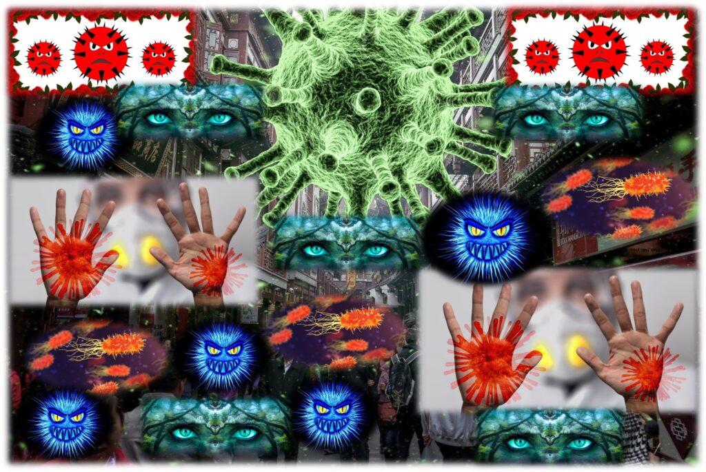 """nanocosmiche creature, Virus e batteri , """"nanocosmiche creature"""", """"nanovettori invisibili, briganti, mutevoli"""" eppure…Eppure fanno TANTO """"MALE"""", """"BENE"""", RUMORE E PAURA!!!"""