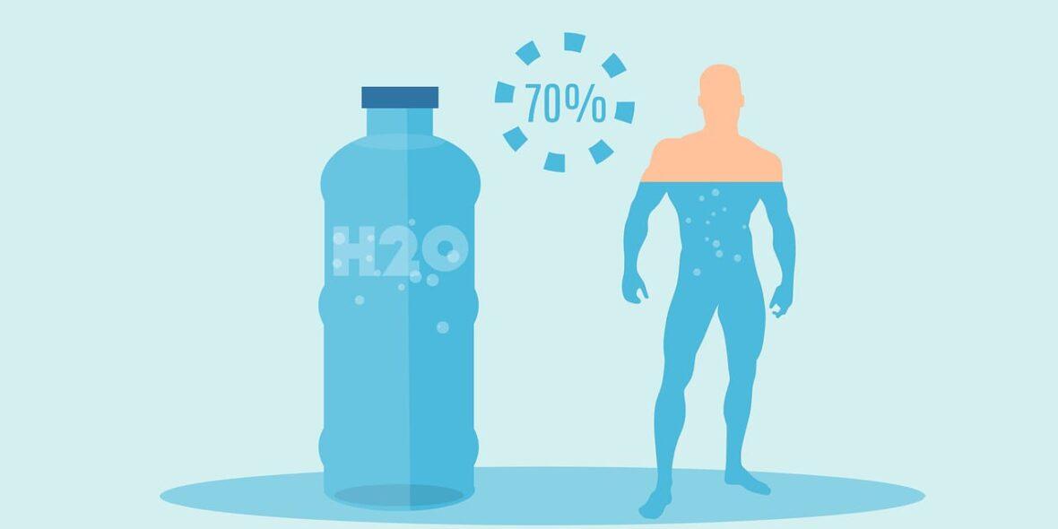 Acqua e sport: come la disidratazione causa la diminuzione della performance